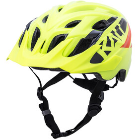 Kali Chakra Helm Kinder gloss neon gelb/orange